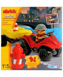 Ecoiffier - Abrick Fireman Quad