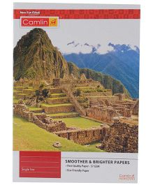 Camlin Single Line Notebook Mountain Print - 180 Pages