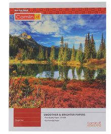 Camlin Single Line Notebook Nature Print - 172 Pages