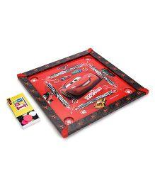 Disney Pixar Car Carrom Board - Red