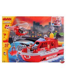 Ecoiffier Abrick Rescue Boat