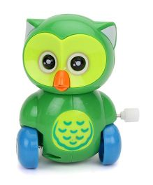 Owl Design Wind Up Toy Car (Color May Vary)