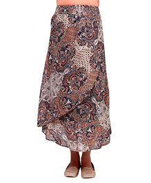 Oxolloxo Printed Maternity Maxi Skirt - Multicolor