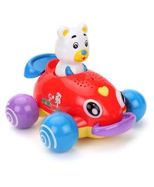Musical Animal Dancing Car - Multicolour