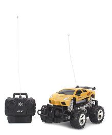 Remote Controlled Racing Car - Yellow