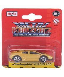 Maisto Lamborghini Murcielago Car Toy - Yellow