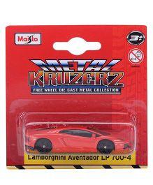Maisto Lamborghini Aventador LP 700 - Red