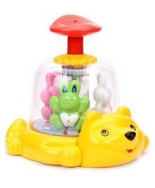 Kids Zone Royal Push And Spin Bunny (Color May Vary)