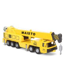 Maisto Die Cast Truck Line - Yellow