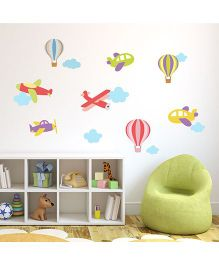 Chipakk Fly High 1 HD Wall Decal - Multi Color