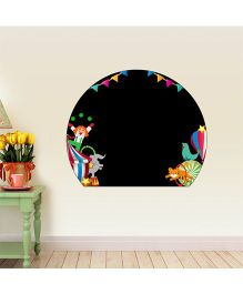 Chipakk Chalkboard Circus HD Wall Decal - Black