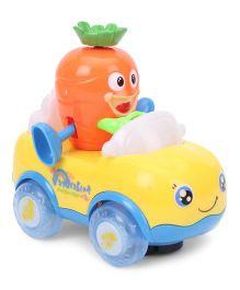 Musical Toy Car - Yellow Orange