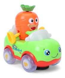 Musical Toy Car - Green Orange