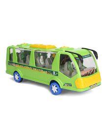 Kids Zone Friction Toy Rocky Tour Bus