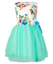 Pikaboo Floral Harmony Dress - Green