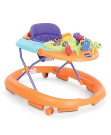 Chicco Walky Talky Baby Walker Orange Wave