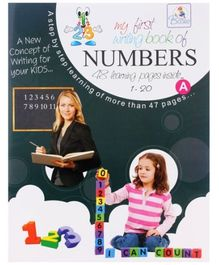 My First Writing Book Of Numbers - Without CD