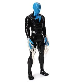 Funskool Marvel Spiderman Titan Hero Series Electroman Figure Black Blue - 12 Inches