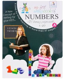 My First Writing Book Of Numbers - With CD