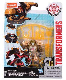 Transformers Rid Minicons Jetstorm Robot Toy - Orange