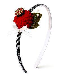 Soulfulsaai Candy Floss Hair Band - Red