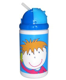 Little's Water Bottle Cool Kids - 400 ml (Color And Prints May Vary)
