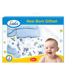 Little's Newborn Gift Set - Blue