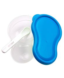 Little's Mashing And Feeding Bowl - Blue
