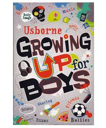 Usborne Growing Up for Boys - 270 Pages