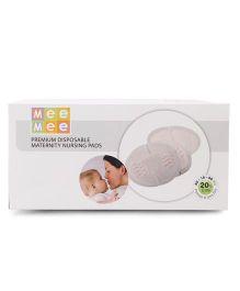 Mee Mee Premium Disposable Maternity Nursing Pads- 96 Pieces