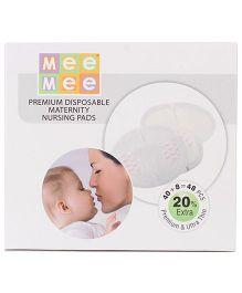 Mee Mee Premium Disposable Maternity Nursing Pads- 48 Pieces