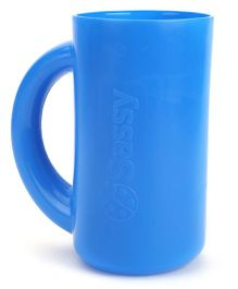 Sassy Soft Touch Rinse Cup - Blue