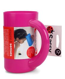Sassy Soft Touch Rinse Cup - Pink