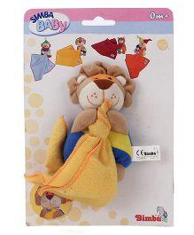 Simba Lion Shape Toy Napkin Holder - Yellow & Multicolor