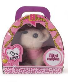 Simba Chi Chi Love Mini Fashion Puppy Toy - Cream And Pink