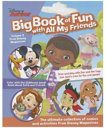 Disney Junior Big Book of Fun With All My Friends - English