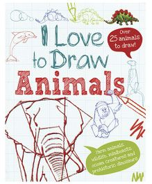 I Love to Draw Animals - English