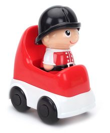 Winfun I - Builder Fireman Figurine With Car - Red