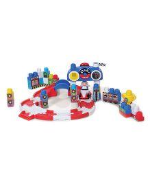 Winfun Go Super Race Block Set Multicolor - 60 Pieces