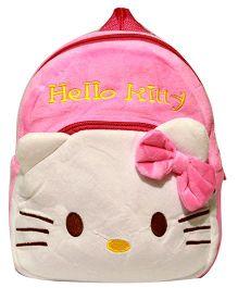 Kiwi Infant Backpack Hello Kitty Print - Pink and White