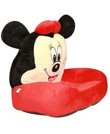 Kiwi Plush Seat Minnie Mouse Design - Red and Black