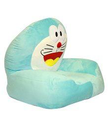 Kiwi Plush Seat Doraemon Design - Blue