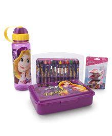 Disney Princess Rapunzel School Kit Purple - Pack Of 4