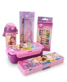 Disney Princess School Kit Pink - Pack Of 5