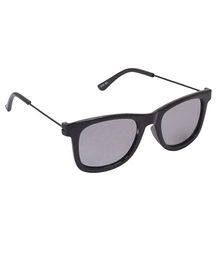 Spiky Wayferer Sunglasses With Case - Black and Red