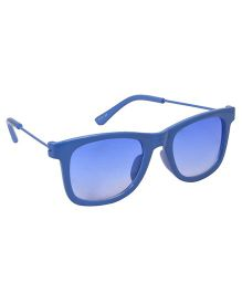 Spiky Wayferer Sunglasses With Case - Blue