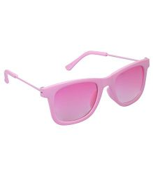 Spiky Wayferer Sunglasses With Case - Pink