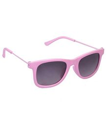 Spiky Wayferer Sunglasses With Case - Pink and Grey