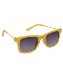 Spiky Wayferer Sunglasses With Case - Yellow and Grey