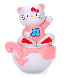 Playmate Roly Poly Tumbler - Pink And White